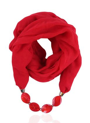Casual Solid Scarves (122028755)