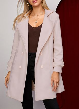 Long Sleeve Coats (146683552)