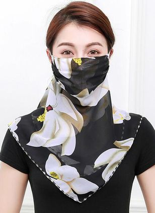Casual Floral Scarves (1518096)