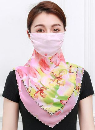Casual Floral Scarves (1518100)