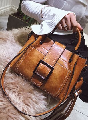 Shoulder Vintage Double Handle Bags (1384120)
