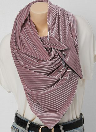 Casual Geometric Scarves (122028662)