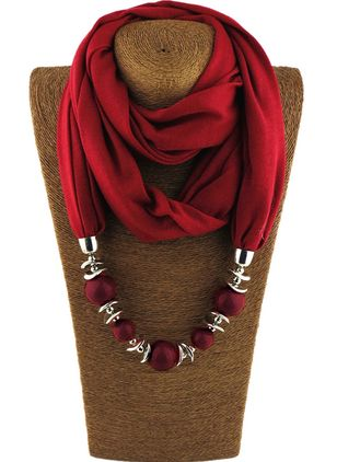 Casual Solid Scarves (1384099)