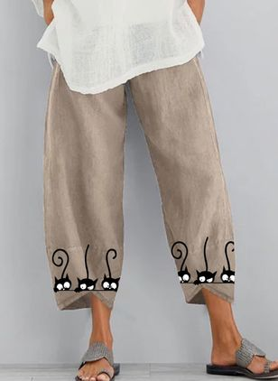 Women's Loose Pants (4209517)