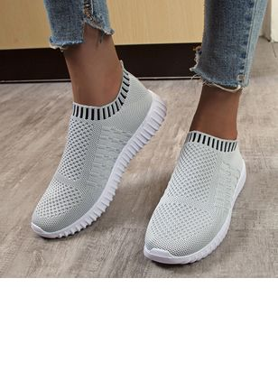 Women's Bowknot Flats Cloth Flat Heel Sneakers