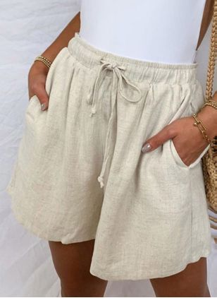 Women's Straight Pants Shorts (101988041)