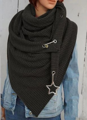 Casual Solid Scarves (122028741)