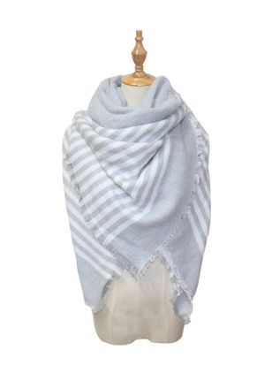 Casual Check Scarves (122028837)