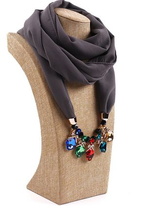 Casual Solid Scarves (122028760)