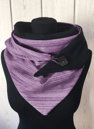 Casual Color Block Scarves (122028839)