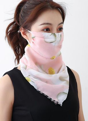 Casual Floral Scarves (1531422)