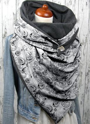 Casual Geometric Scarves (1537138)