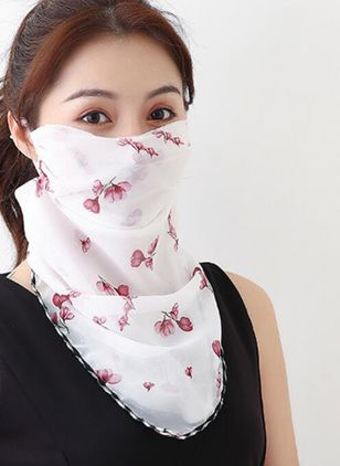 Casual Floral Scarves (1531402)