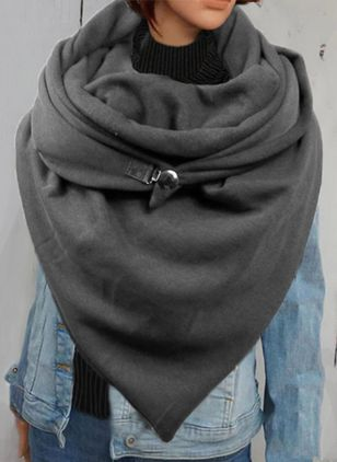 Casual Solid Scarves (131284908)