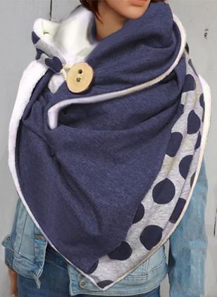Casual Polka Dot Scarves (131284907)