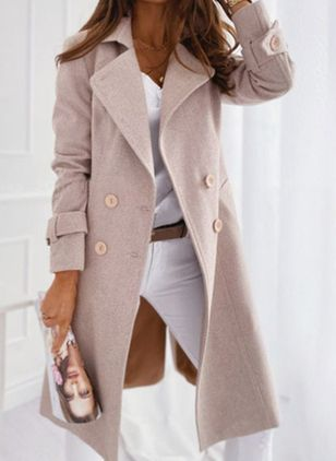 Long Sleeve Coats (125152929)
