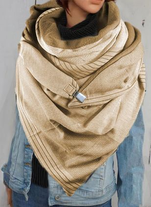 Casual Solid Scarves (131284909)