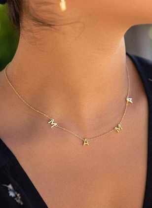 Casual Pendant Necklaces (147210128)
