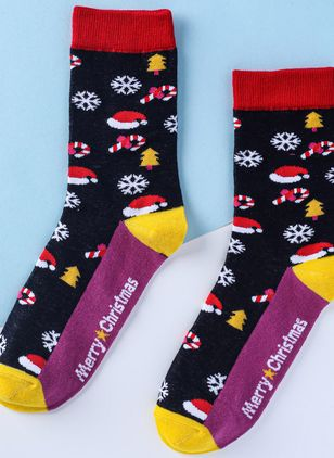 Women's Christmas Cotton Socks & Hosiery Ankle Socks Socks (128229011)