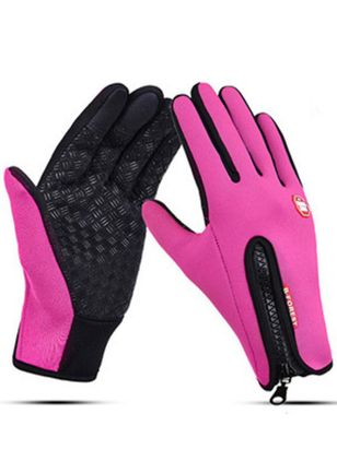 Women's Casual Velvet Leather & Faux Leather Gloves & Mittens Breathable Gloves (127657365)