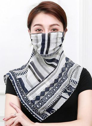 Casual Geometric Scarves (1518098)